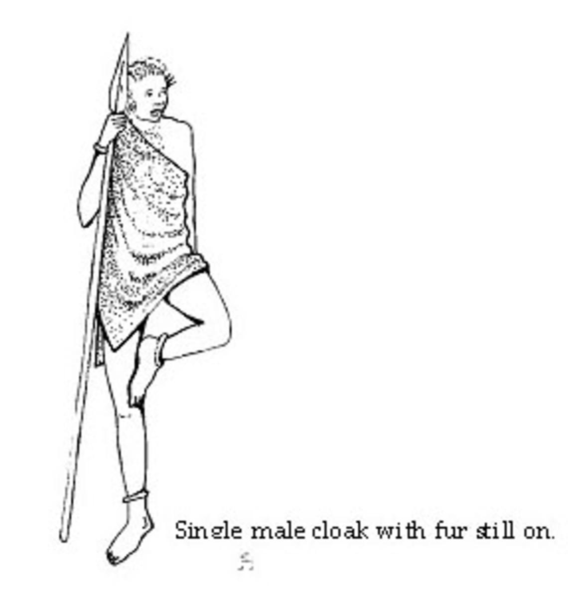 Kikuyu male attire