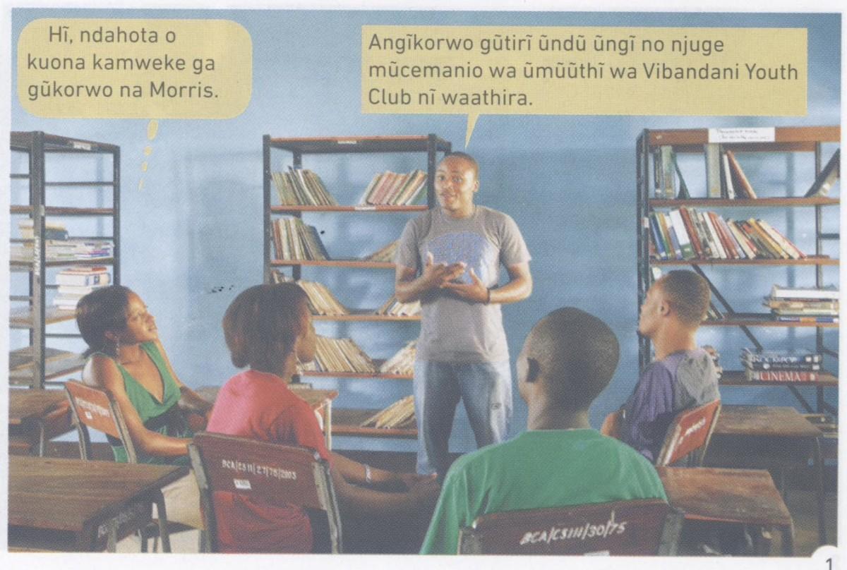 A dialogue in Kikuyu