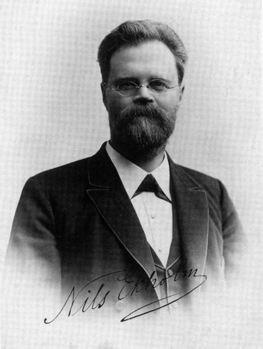 Nils Ekholm.  Image courtesy Wikimedia Commons.