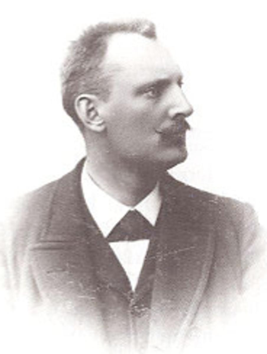 Ekholm's replacement, Knut Fraenkel.  Image courtesy Wikipedia.