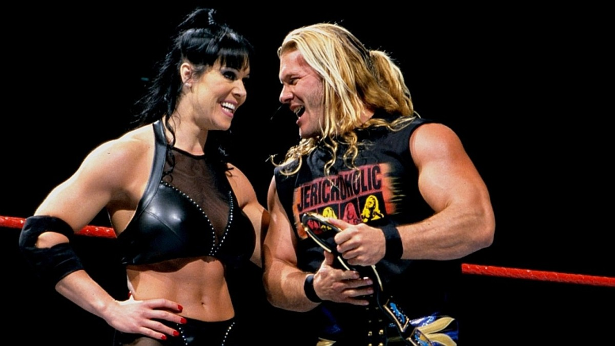 Chyna and Chris Jericho