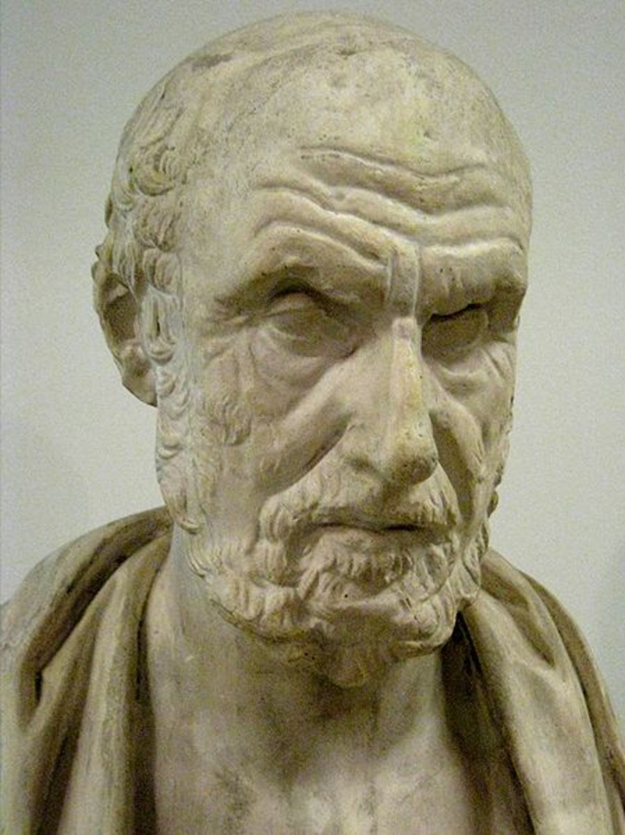 Cast of Hippocrates. Photo courtesy of wikimedia.org.