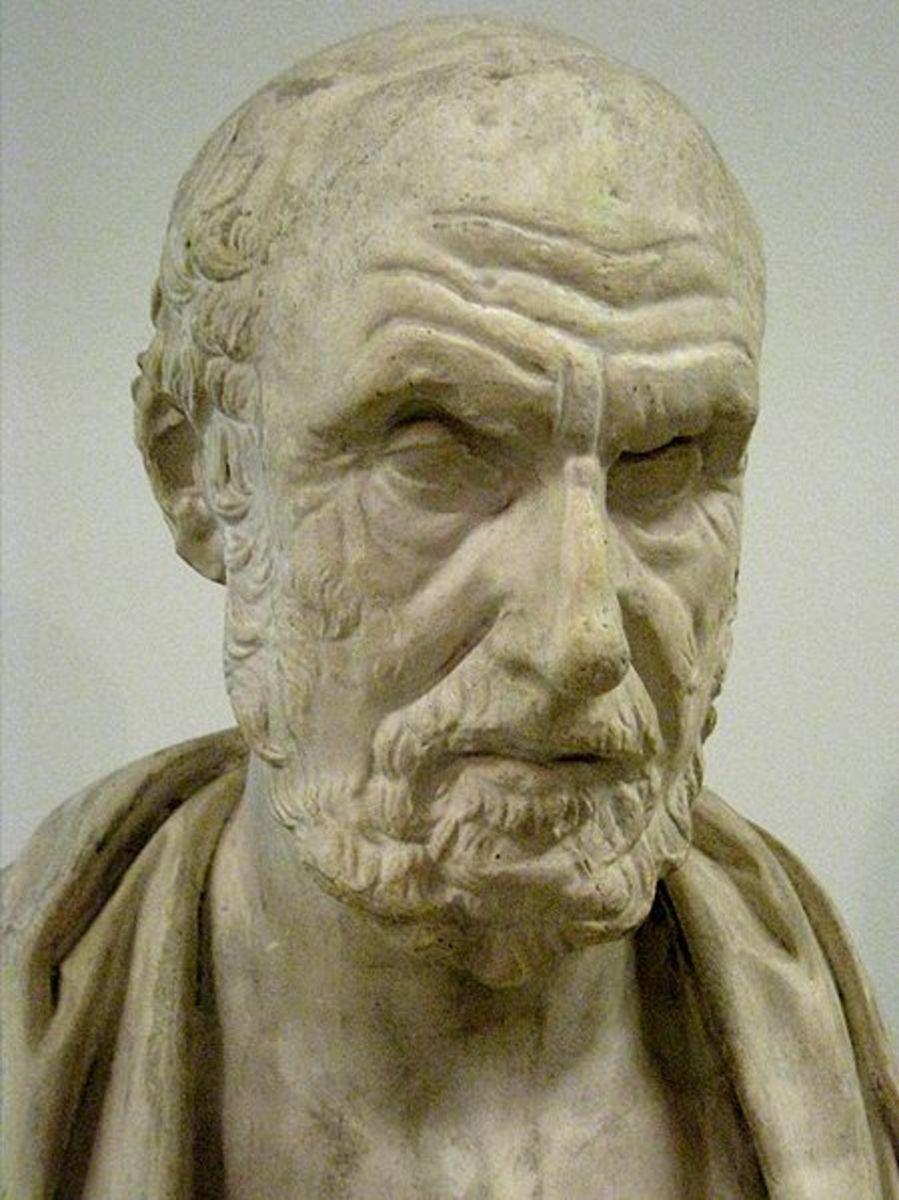 Cast of Hippocrates. Photo courtesy of wikimedia.org.