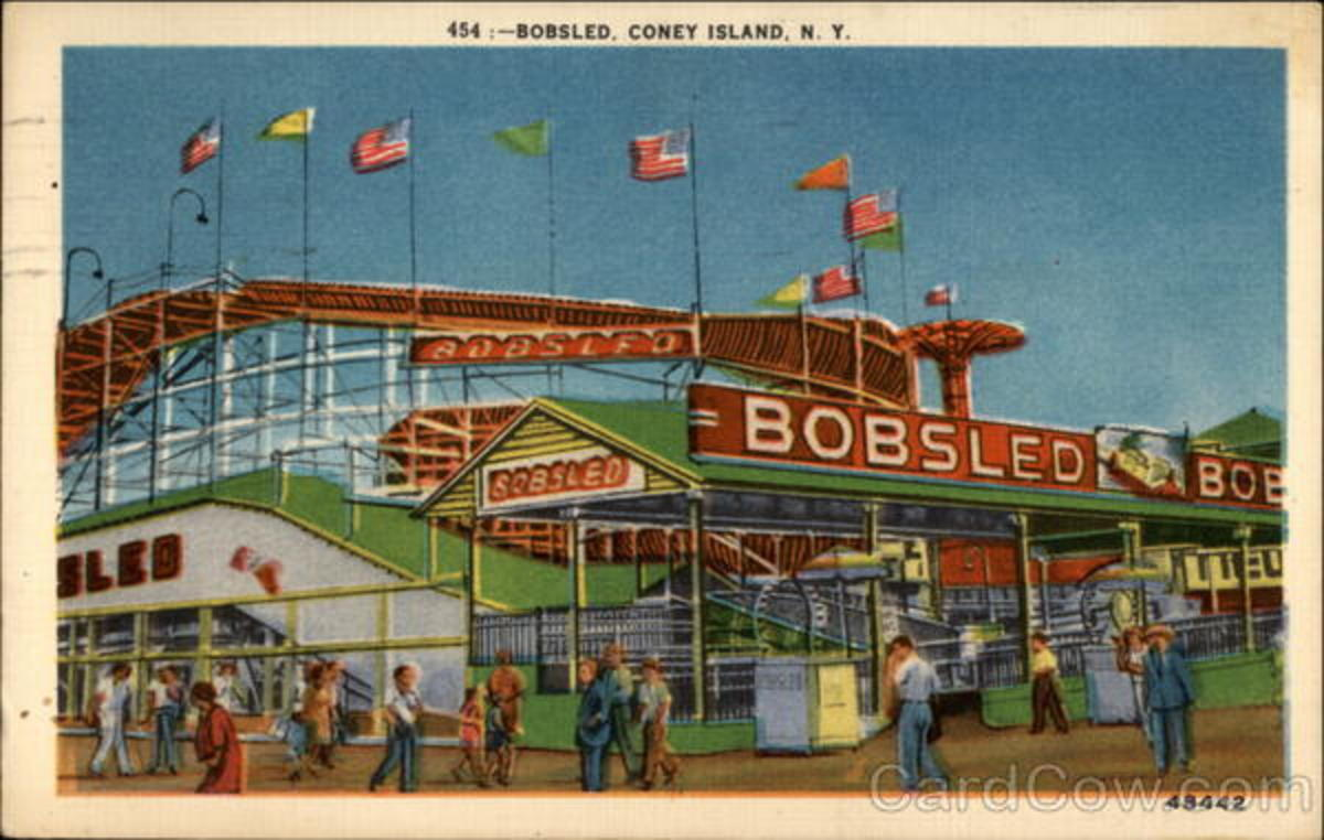 Here is where you can get Old Post Cards of Coney Island back in the Past.