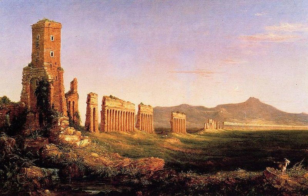 Thomas Cole, Aqueduct near Rome