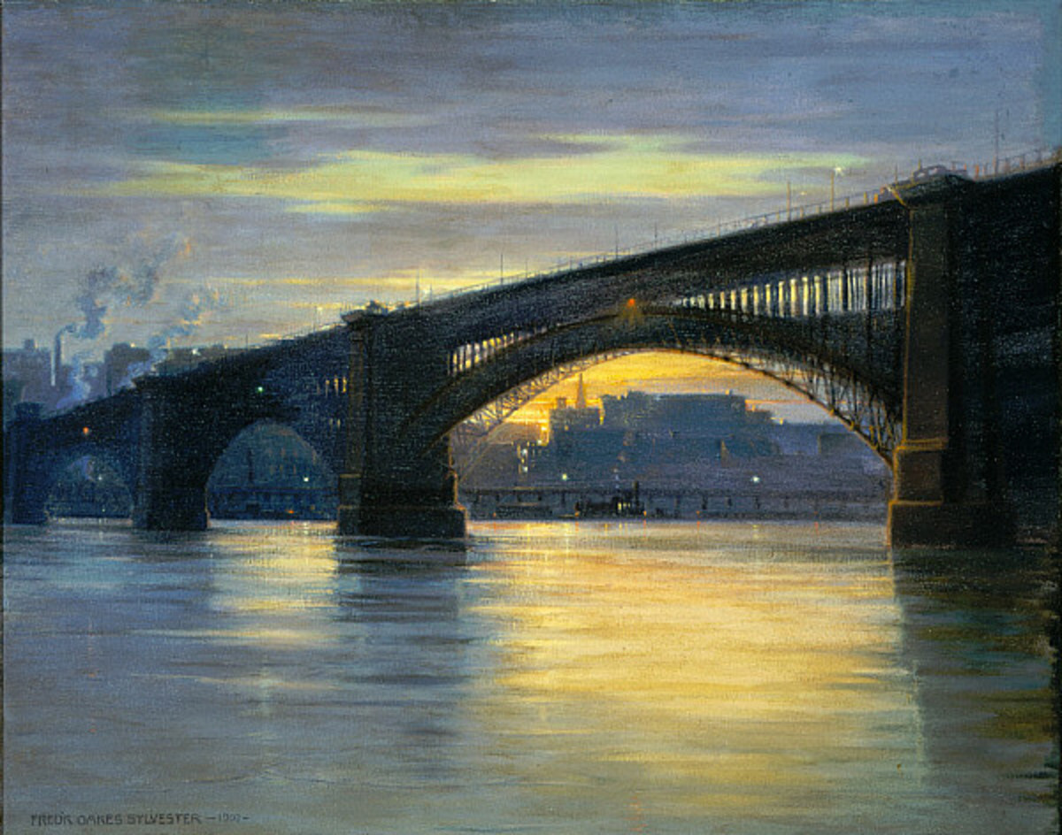 Frederick Oakes Sylvester - The Bridge, 1903. Image courtesy of Wiki Commons