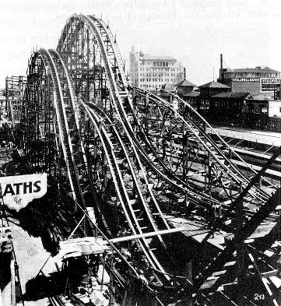 The Famous ThunderBolt- excellent Site to visit: http://www.ultimaterollercoaster.com/coasters/history/early_1900/coney_island.shtml