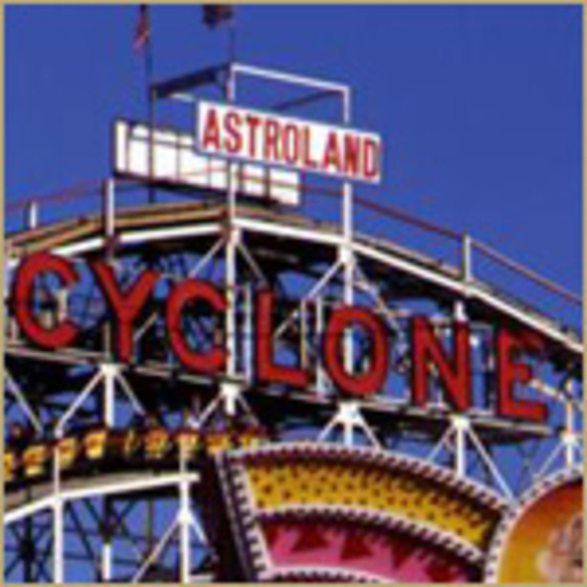The Famous Cyclone Ride 1960s In Astroland Park.