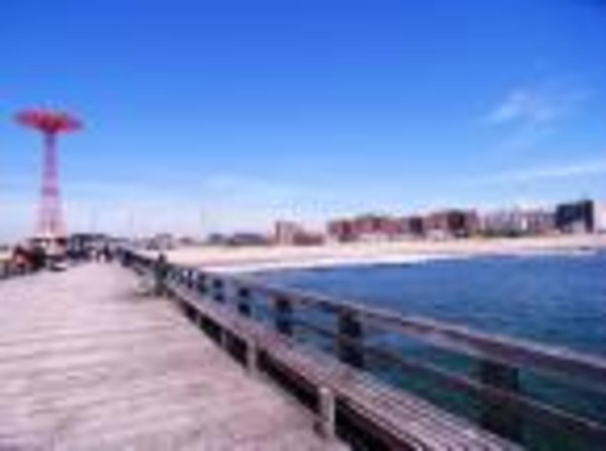 Pier at Coney Island