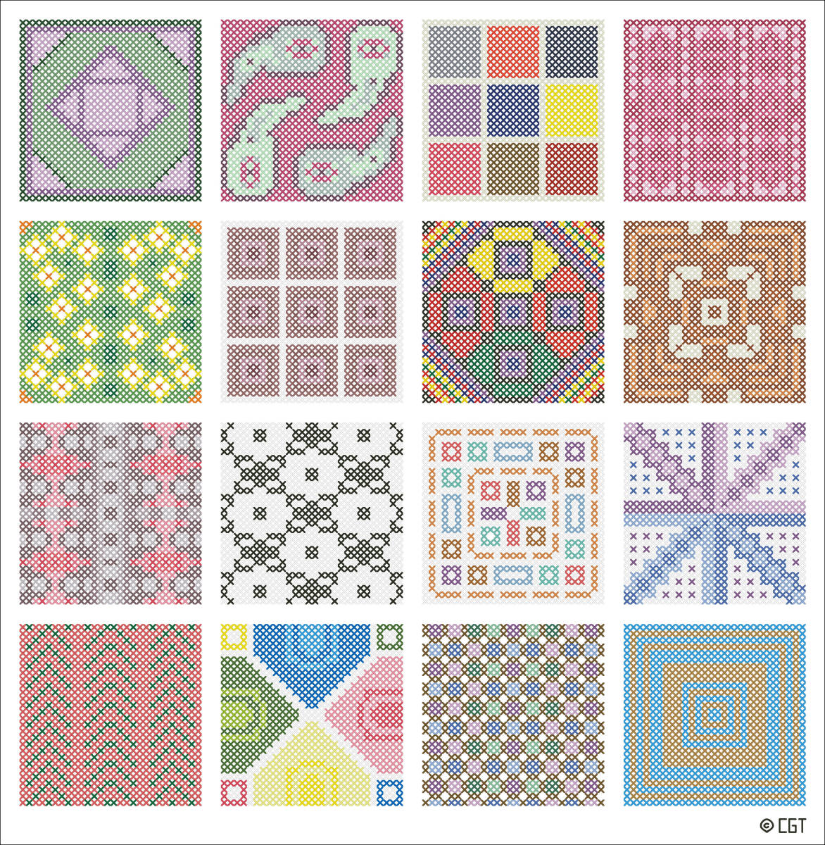 Free Online Cross Stitch Patterns