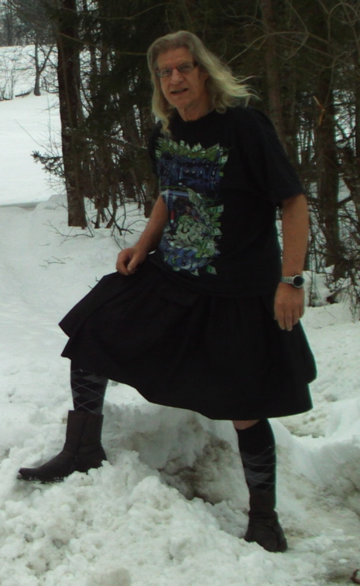 Kilt like skirt