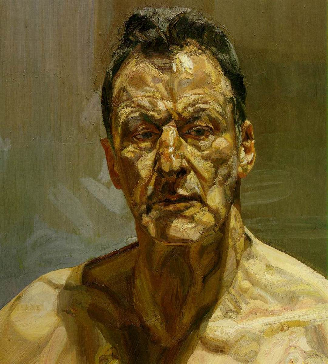 """Self Portrait"" by Lucien Freud"