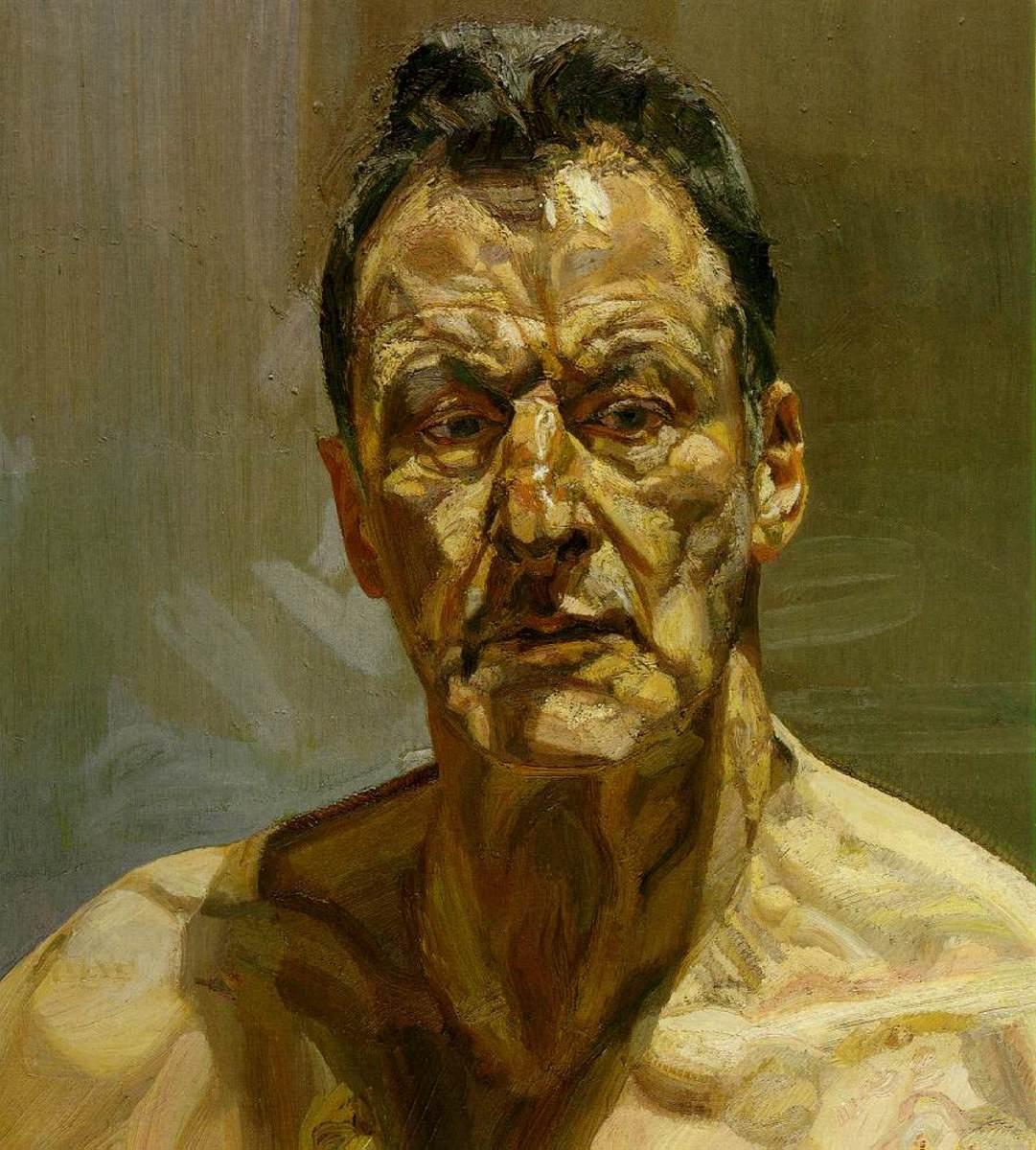 """Self Portrait"" by Lucien Freud"