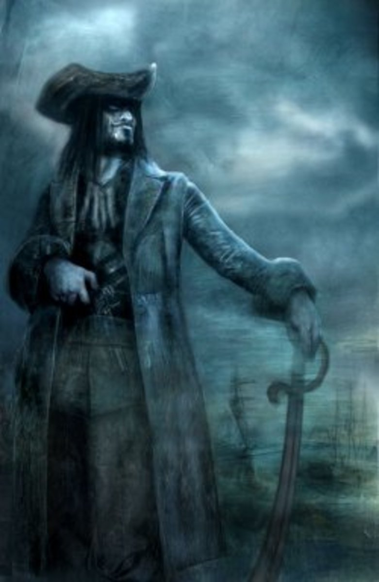 Blackbeard, the most famous pirate from Bristol