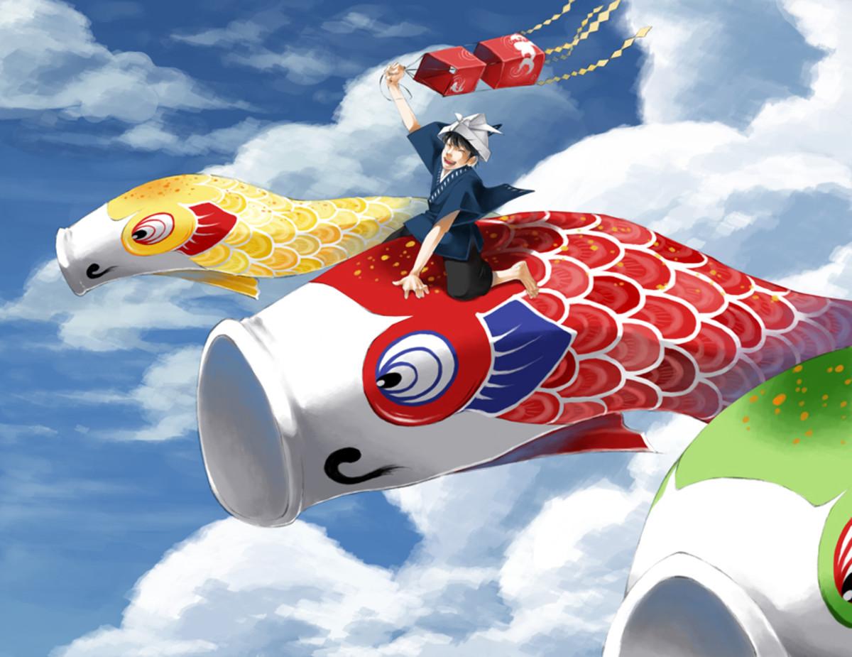 Flying Fish for Kodomo No Hi