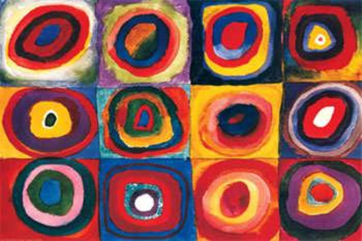 Wassily Kandinsky's Color Studies - An Analysis