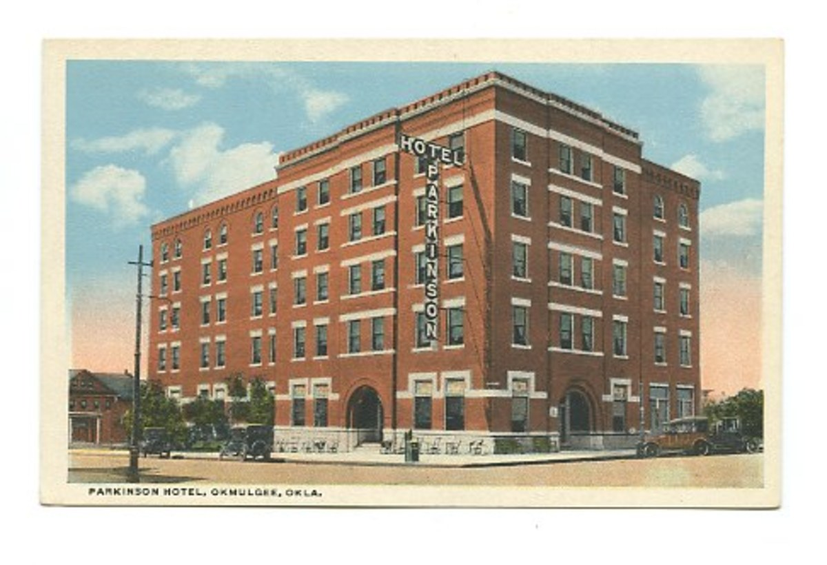 The Parkinson Hotel in Downtown Okmulgee.