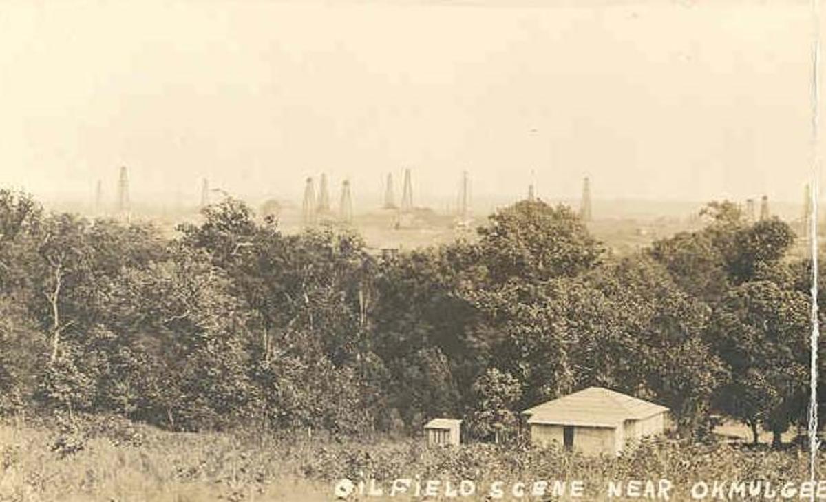Oil Fields in Okmulgee.