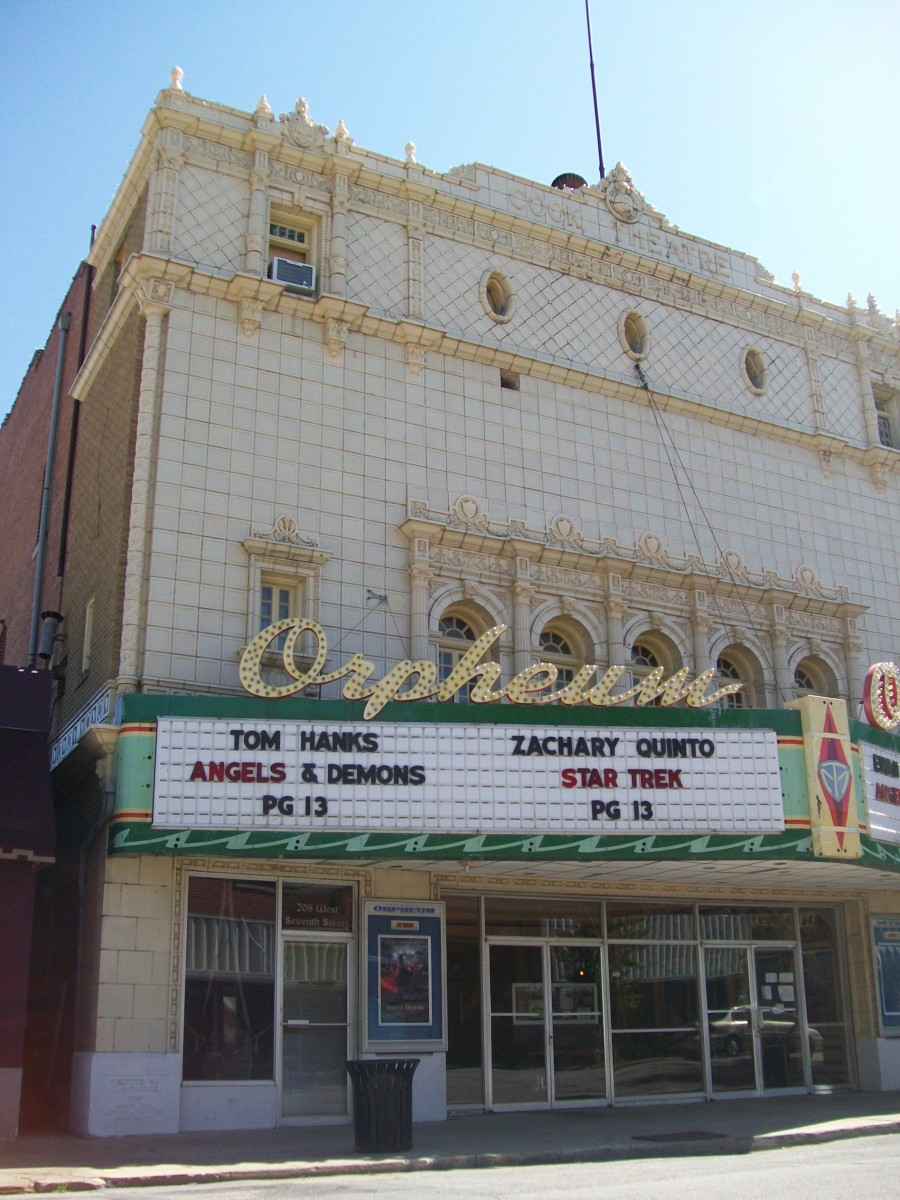 The Orpheum Theater as it looks today.