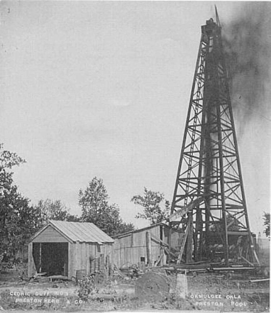 Oil Well - Preston Pool.