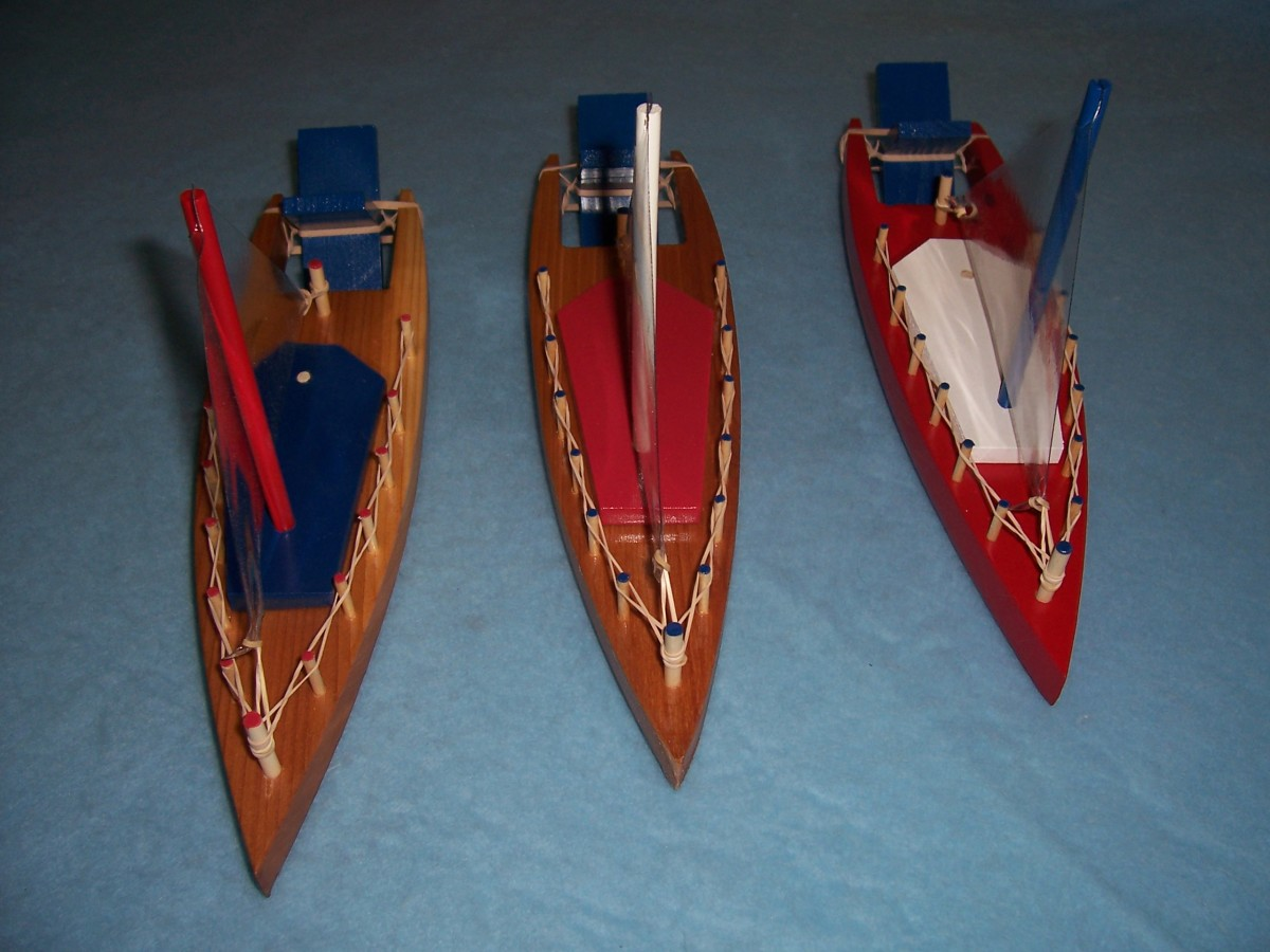 A paddle-wheel bathtub sailboat toy. Another great seller!