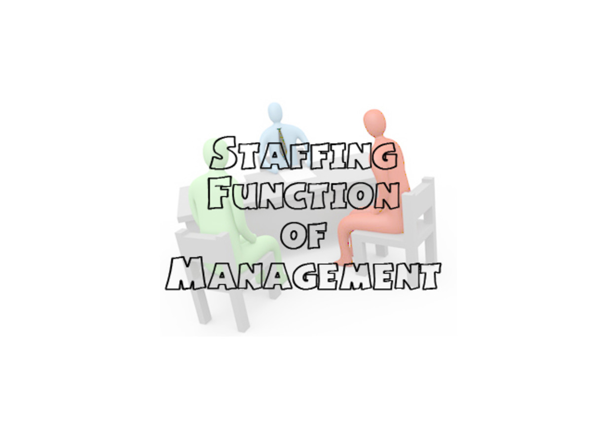 Staffing Function of Management