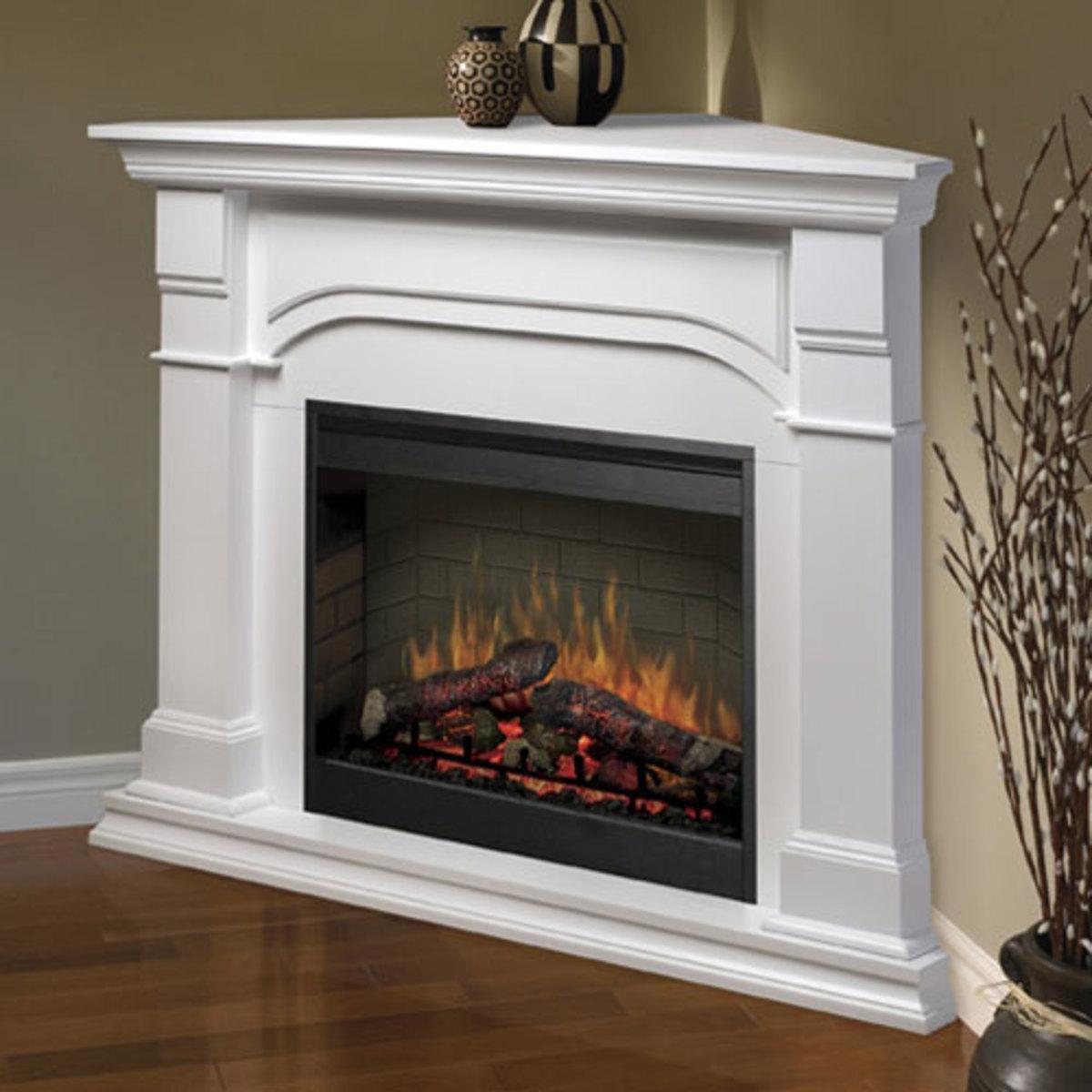 Buy An Electric Fireplace Make It A Corner Fireplace