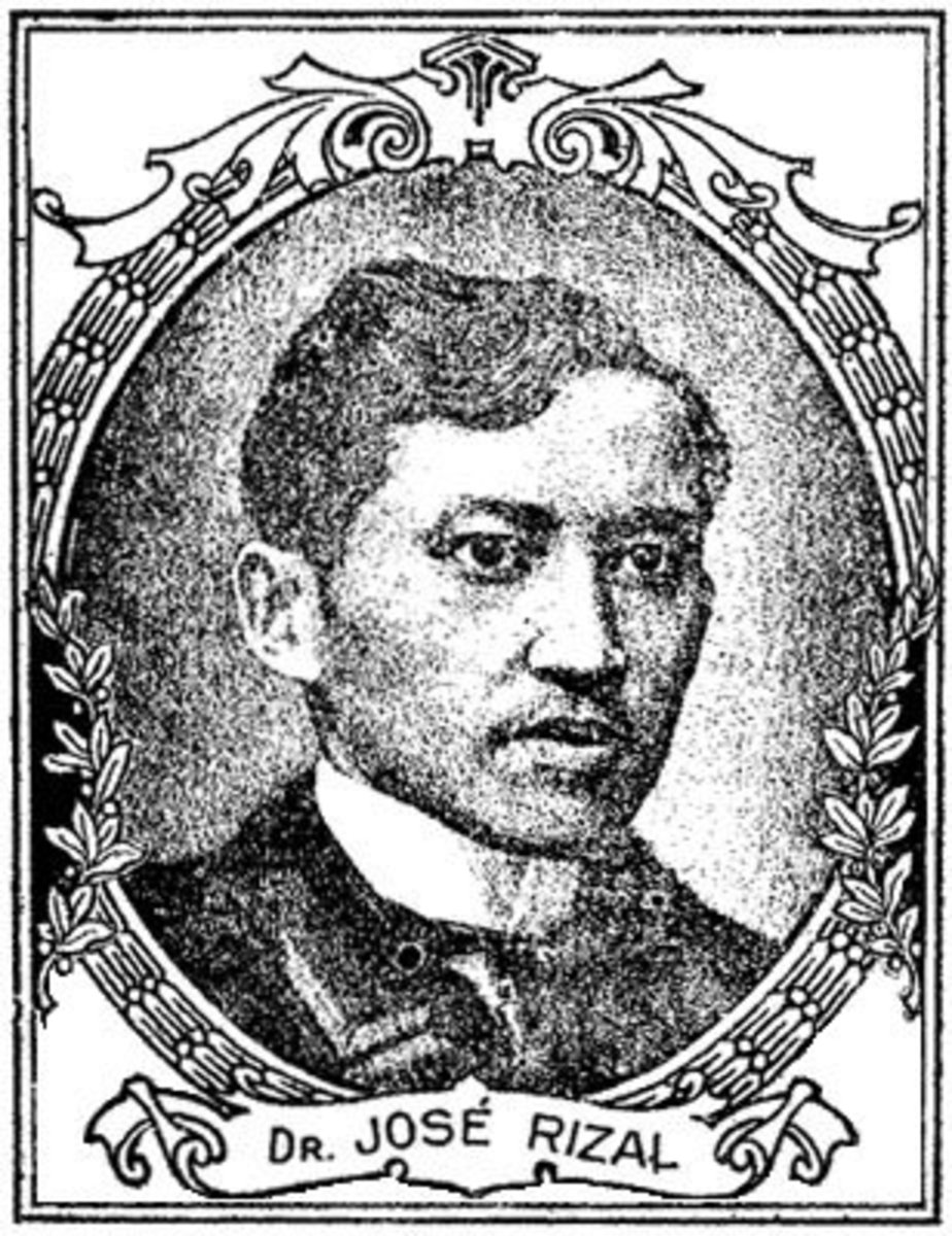 Jose Rizal in Singapore to Colombo