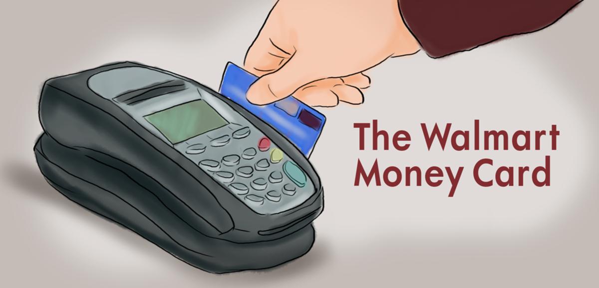 Walmart MoneyCard—Prepaid  Visa Debit Card