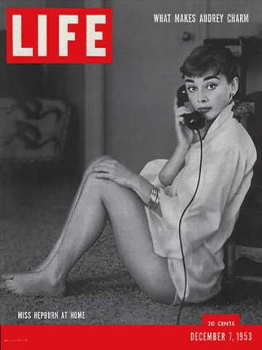 Audrey Hepburn - Cover of Life Magazine
