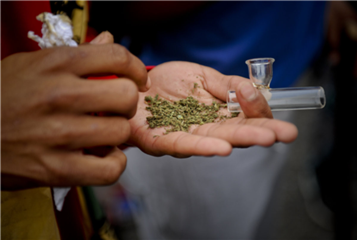 Nyaope, a mixture of dagga and heroine, is said to have originated in the Pretoria townships of Soshanguve, Atteridgeville and Mamelodi in the early 2000s.Picture