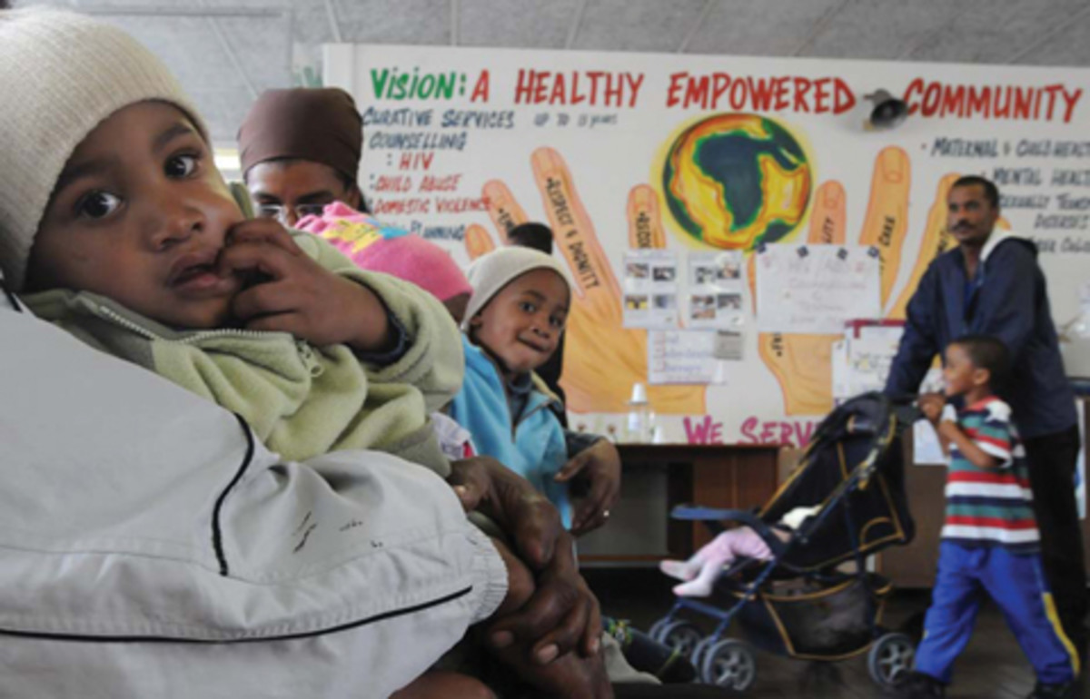 With all the posters and slogans, Health still remain a problematic issue in South africa