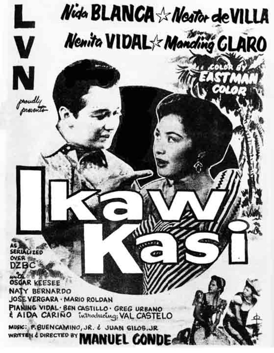 Ikaw Kasi, 1955. LVN Comedy Dance Musical Directed by Manuel Conde