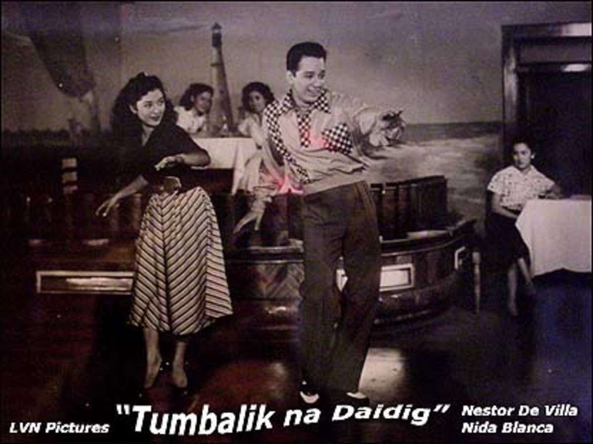Tumbalik Na Daigdig, 1953, LVN Production, Nida Blanca and Nestor de Villa