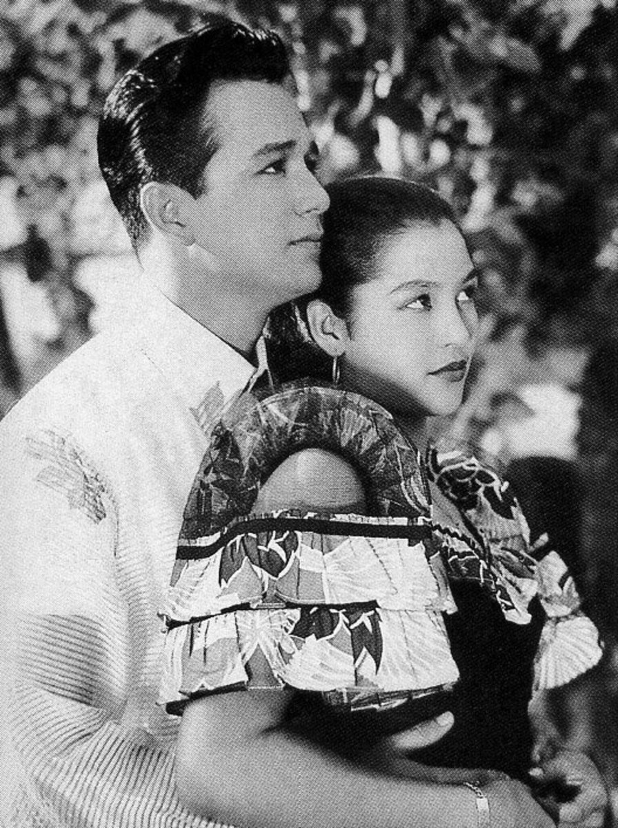 Nida Blanca and Nestor de Villa Philippine Silver Screen Movie Tandem