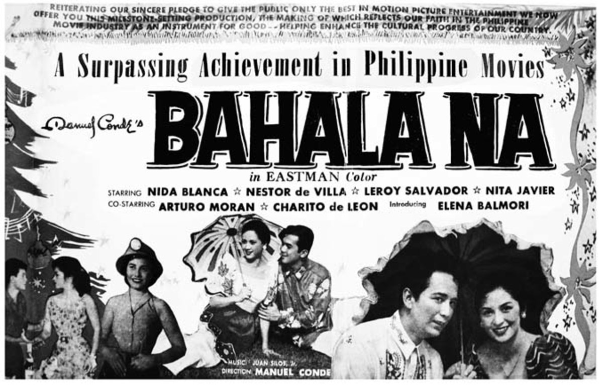 Bahala Na, 1957, LVN Production, Nida Blanca and Nestor de Villa