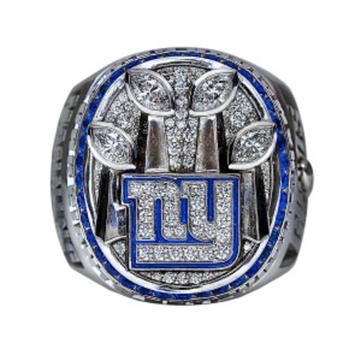 XLVI Super Bowl NFL Ring - New York Giants 2012