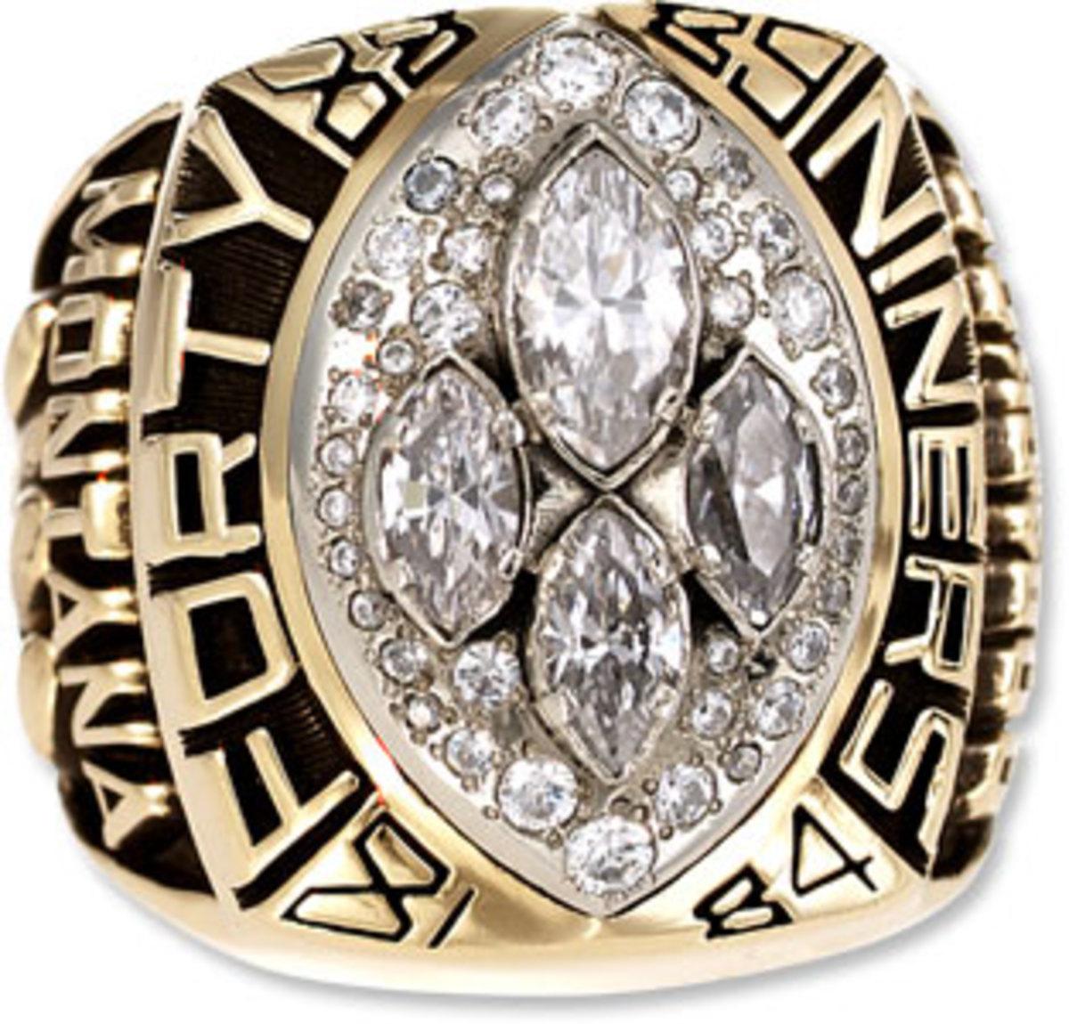 XXIV San Francisco Super Bowl Ring 1990