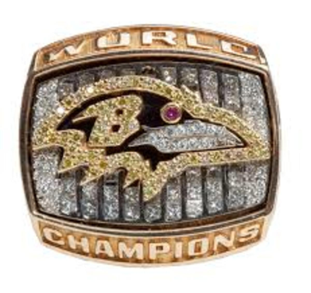 XXXIV BALTIMORE RAVENS SUPER BOWL 2000