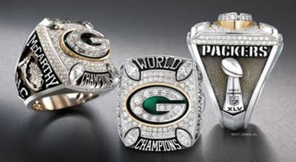Green Bay Packers World Champion Super Bowl Ring
