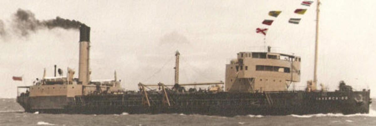 Typical oil tanker in 1942