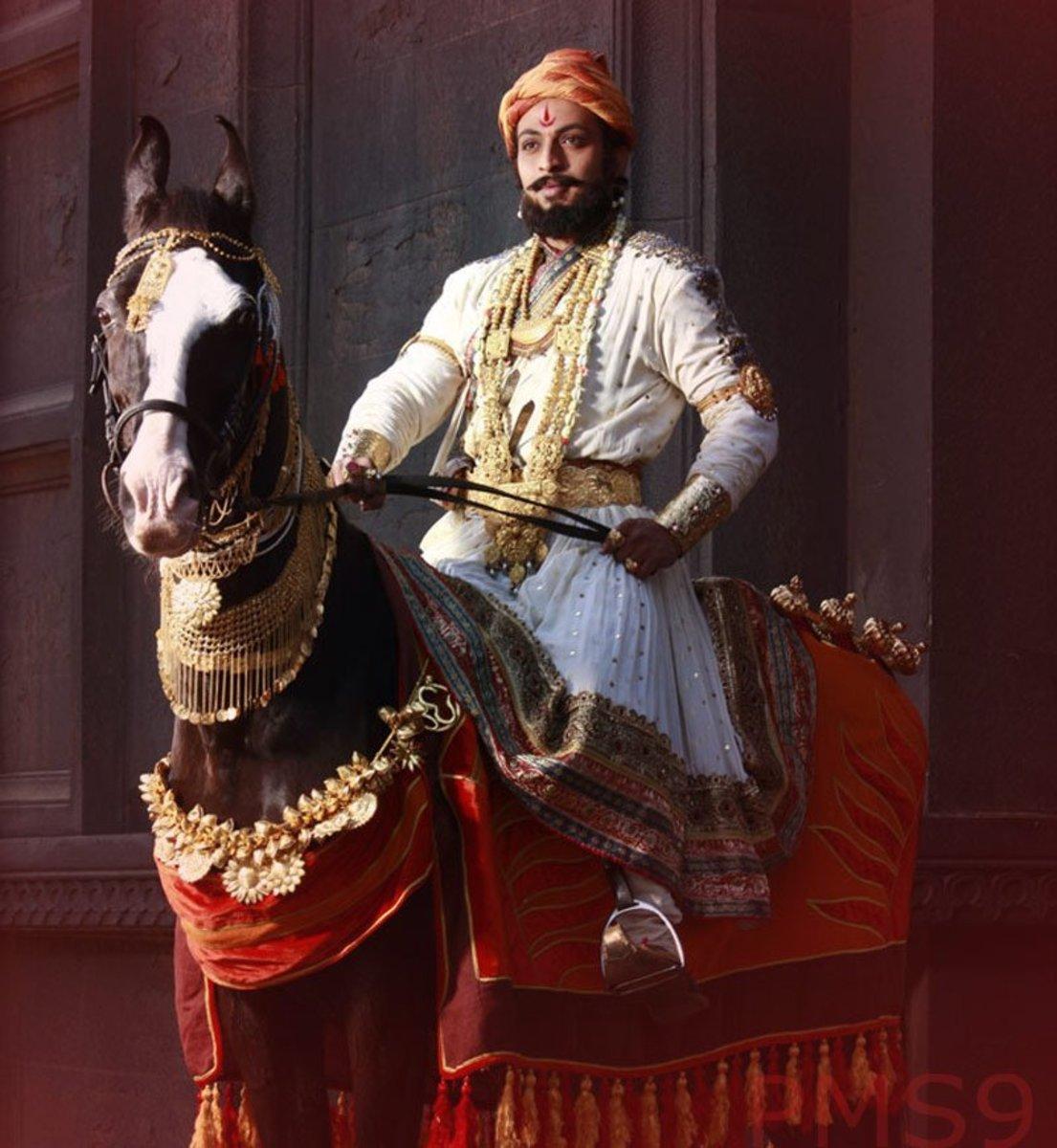 Shivaji on Horse