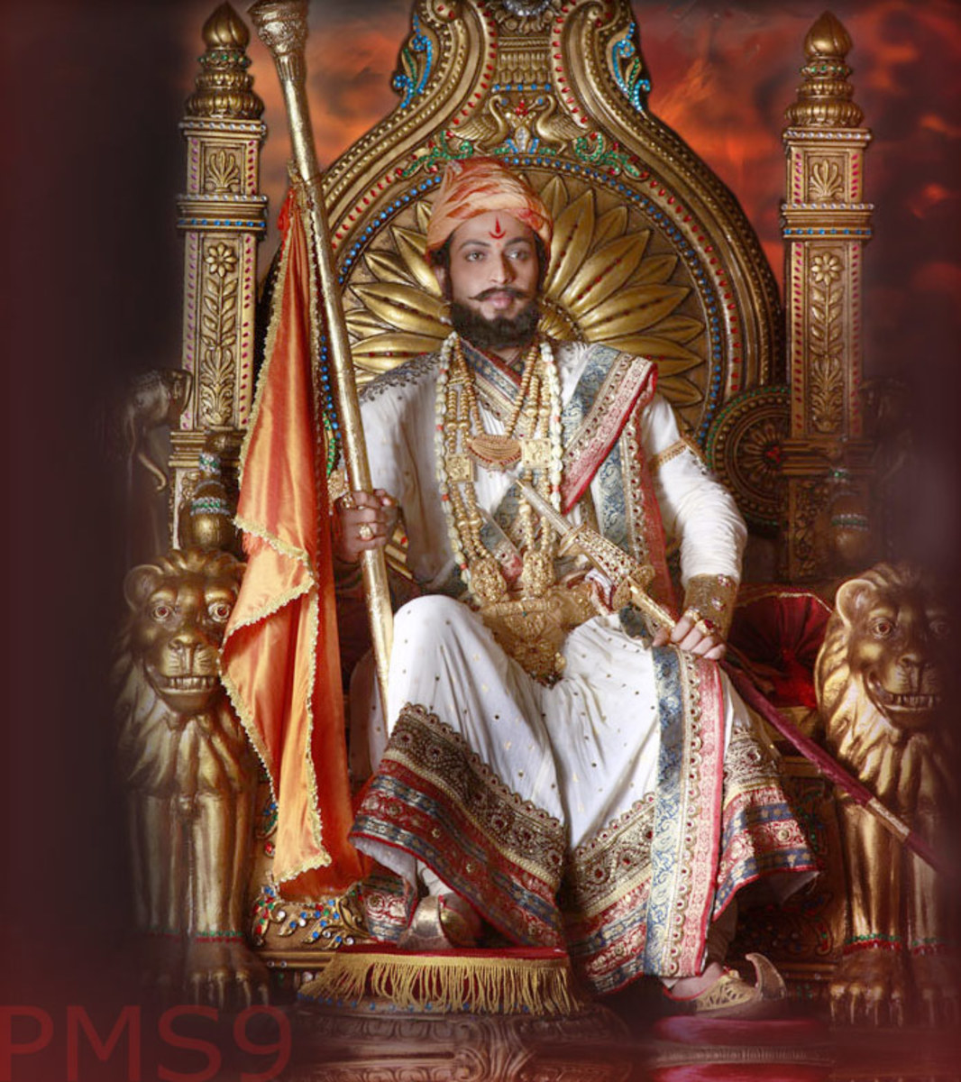 Amol Kolhe as a Shivaji
