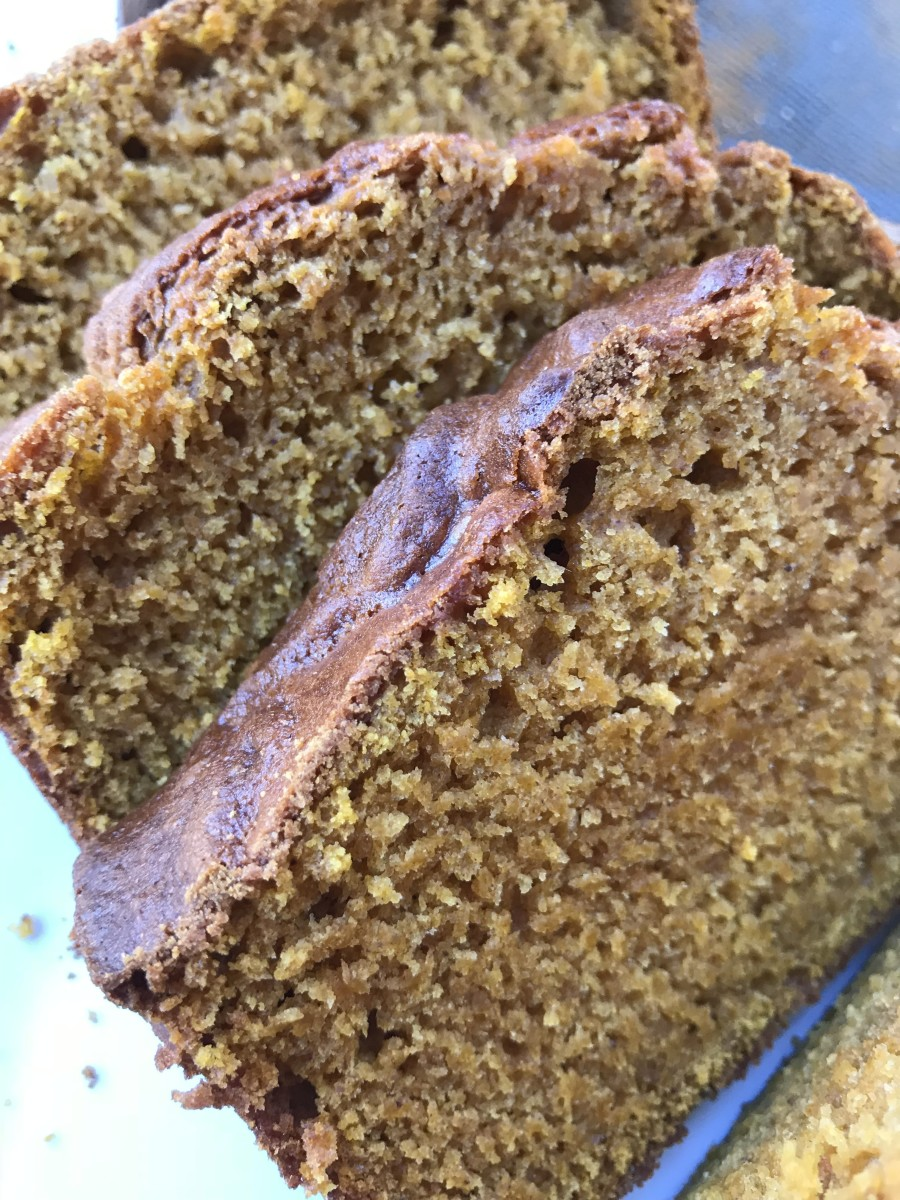 Rich, moist and delicious, this pumpkin bread is a family favorite. It's a snap to make and turns out beautifully every time!