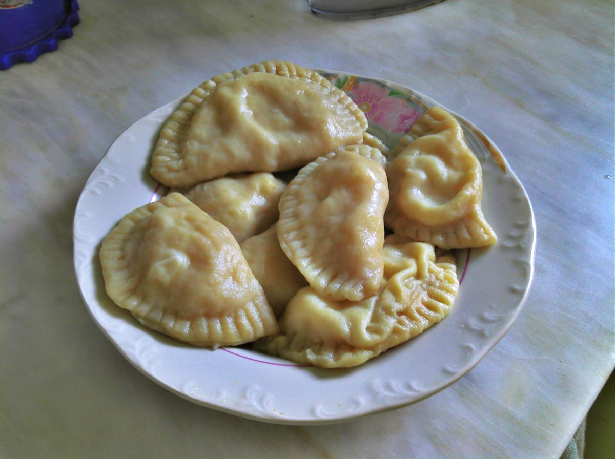 Cooked and Boiled Pierogi