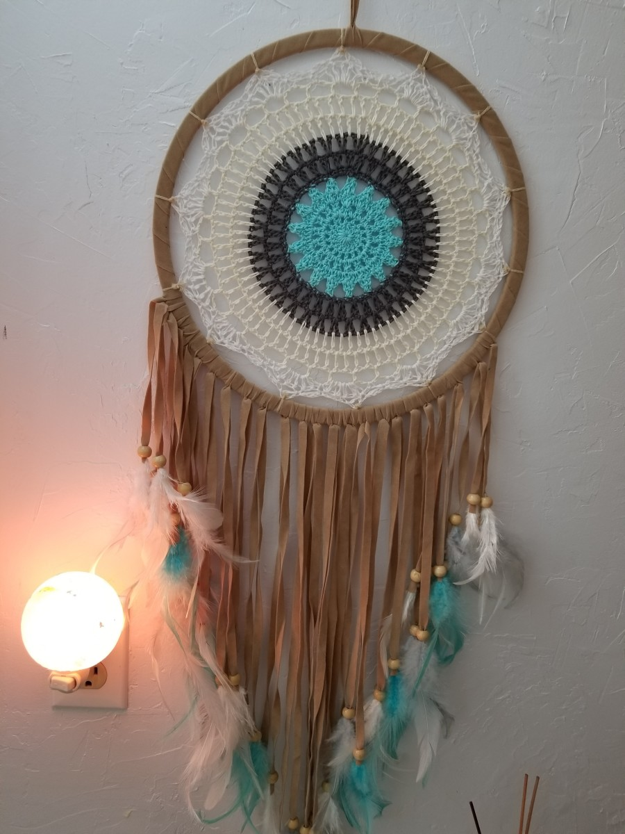 My dream catcher.  This one is for decoration..