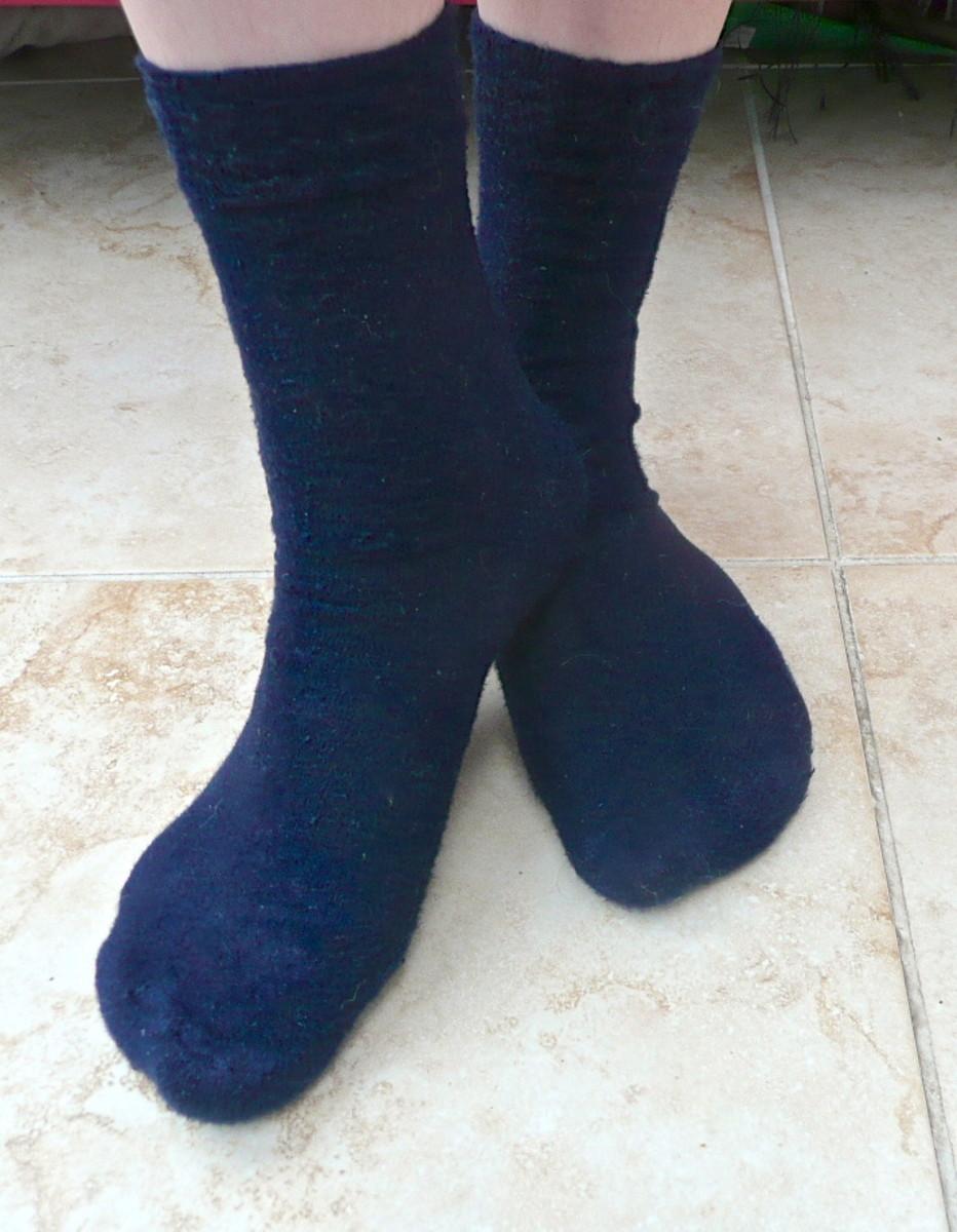 Bamboo cushioned socks