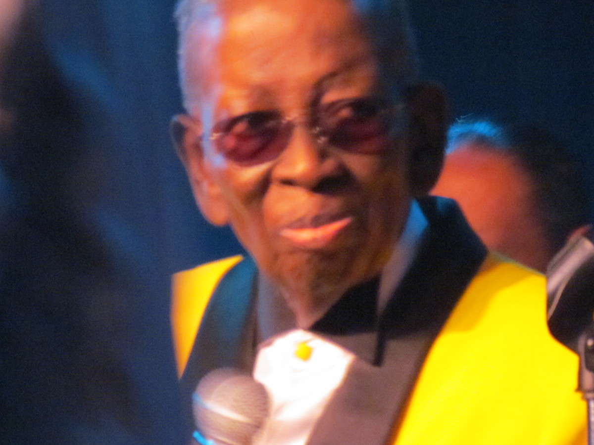 "Blue Lovett, ""Mr. Kiss and Say Goodbye"" is given a honorary tribute for his abundant talents of being a loving father, friend, husband, manager, producer and writer."