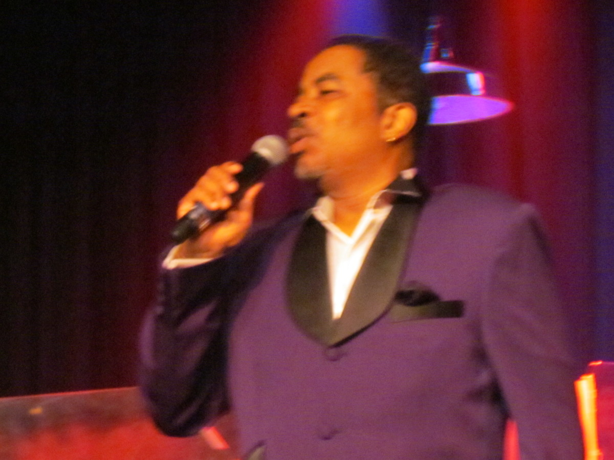 David Tyson, also expressed his appreciation for Blue's efforts over the years by bringing him into the group to be one of The Manhattans.