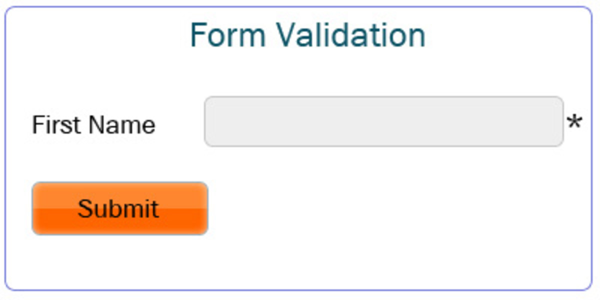 Jquery Validation Form